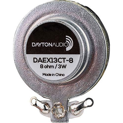 Dayton Audio DAEX13CT-8 Coin Type 13mm Exciter 3W 8 Ohm