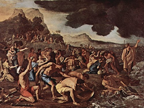 Lais Jigsaw Nicolas Poussin - The Crossing of The Red Sea 500 Pieces (The Crossing Of The Red Sea Poussin)