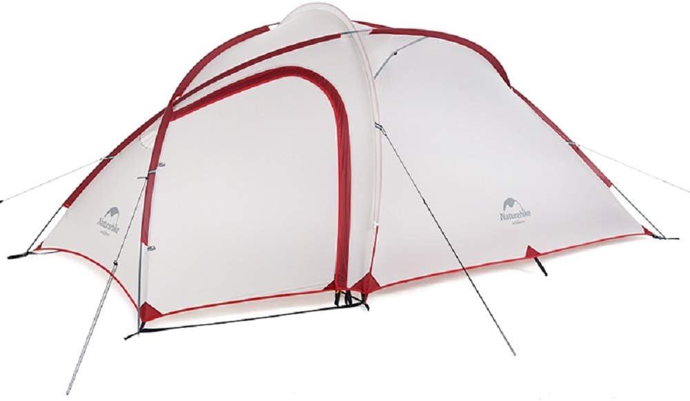 Naturehike Hiby Una habitación una Tienda de campaña Exterior 2-3 Personas Familia Salvaje Camping montañismo Impermeable Tienda Doble NH18K240-P