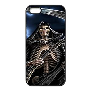 Customized case Of Grim Reaper Hard Case for iPhone 5,5S by icecream design