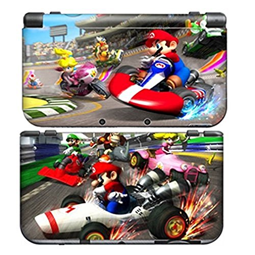 MARIO KART 1 for New Nintendo 3DS N3DS Skin New3DS Decal Sticker Vinyl Cover + Screen Protectors (Difference Between Ultra Sun And Ultra Moon)