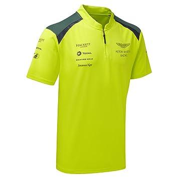 Camiseta del equipo Aston Martin Racing para 2017, verde. Polo en ...