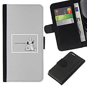 KingStore / Leather Etui en cuir / Apple Iphone 5C / Emociones Viagra Cita divertida Vida motivación