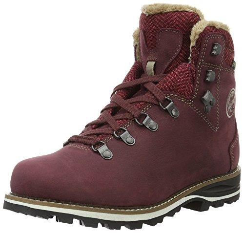 Lowa Wendelstein Warm Gtx, Zapatos de High Rise Senderismo para Mujer Rosa (beere)