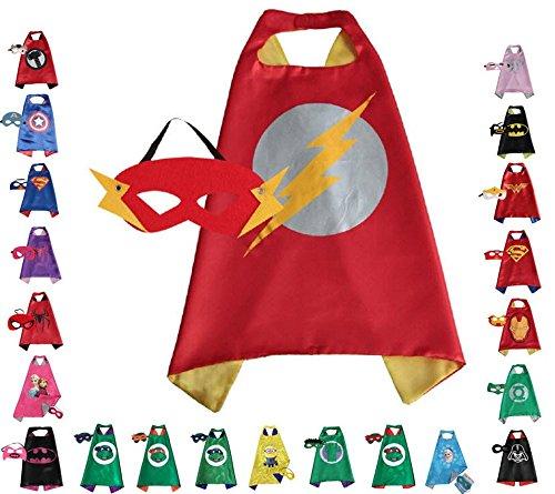 Super hero Cape and Mask, Children, Boys, Girls Dress Up Costume
