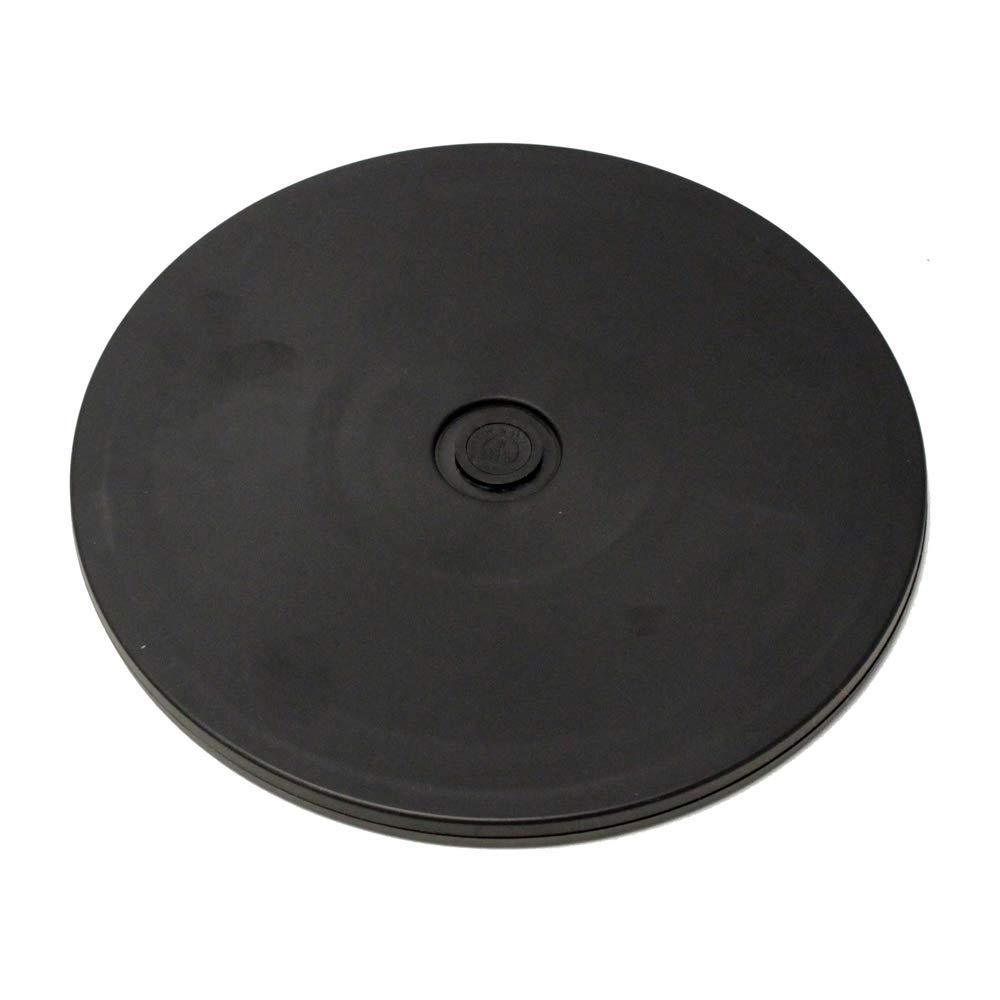 Cablematic Base giratoria manual de 20,3 cm Plataforma rotatoria de color negro