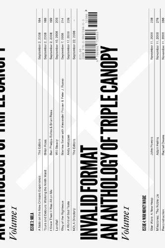Invalid Format An Anthology of Triple Canopy Vol. 1  sc 1 st  SaveMoney.es & Triple canopy le meilleur prix dans Amazon SaveMoney.es