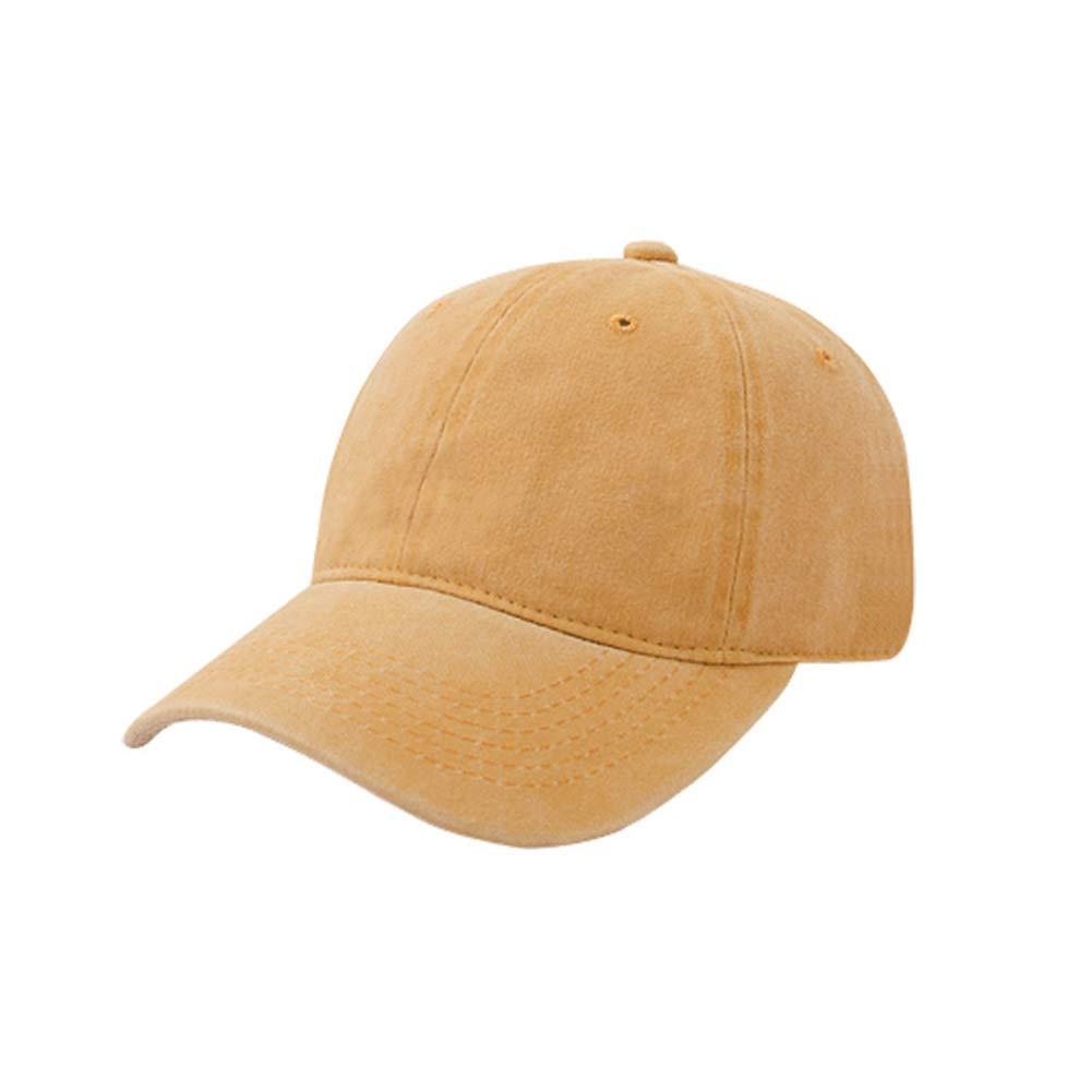 Sombrero Hembra Color sólido Gorra de béisbol Antigua recubierta ...