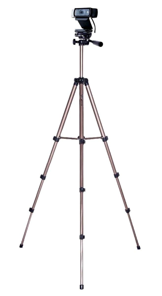 AceTaken Webcam Tripod, Camera Tripod Mount Stand for Logitech Webcam C925e C922x C922 C930e C930 C920 C615-49 inches by AceTaken