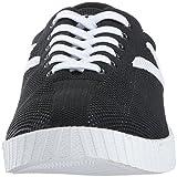 TRETORN Men's NYLITEKNIT Sneaker, Black Knit, 7