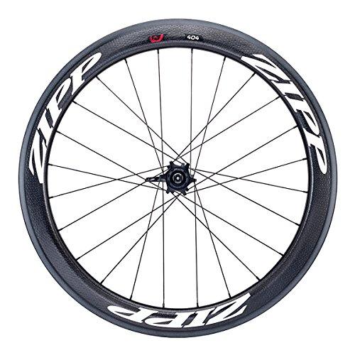 Zipp 404 Carbon Clincher Disc Brake Rear Wheel: 700c, V2, 10/11 Speed SRAM Cassette Body, White Decal