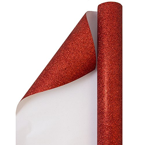 JAM PAPER Gift Wrap - Glitter Wrapping Paper