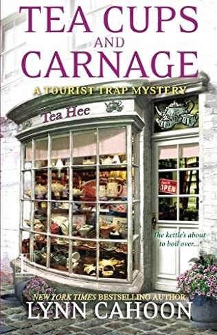 book cover of Tea Cups and Carnage