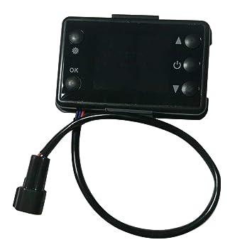 LoveOlvidoE 12V / 24V 3 / 5KW Monitor LCD Interruptor del Calentador de estacionamiento Dispositivo de