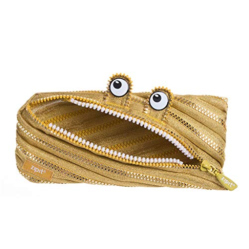 ZIPIT Monster Pencil Case Special Edition, Gold