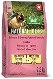 VitaLife Natural Diets Dry CAT Food - Grain Free, Salmon & Sweet Potato, 2.8 kg