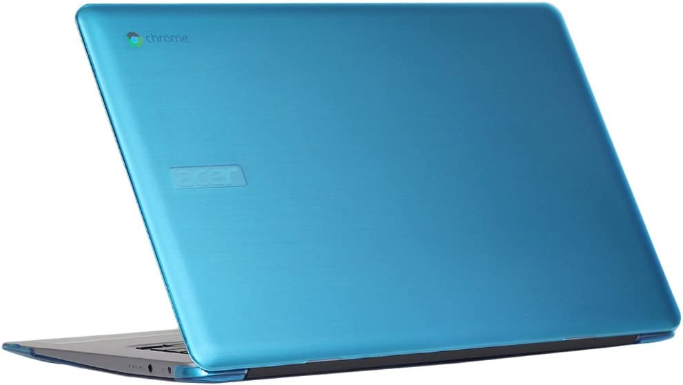 "mCover Hard Shell Case for 15.6"" Acer Chromebook 15 CB515 Series (NOT Compatible with Older C910 / CB5-571 / CB3-531 Series) Laptop (Aqua)"