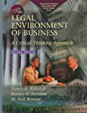 img - for The Legal Environment of Business: A Critical Thinking Approach with Total Law CD-ROM (2nd Edition) book / textbook / text book