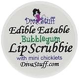 Bubblegum with Mini Chicklets Lip Scrubbie by Diva Stuff - 1/4 ounce