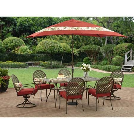 Amazoncom Better Homes and Gardens Sarona 7pc Dining Set