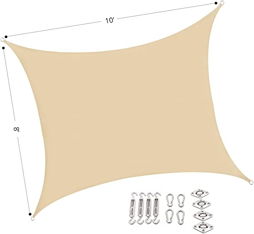 UPGRADE AASR081010 Sun Shade Sail Rectangle