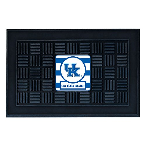 NCAA University of Kentucky Wildcats 3-D Team Medallion Vinyl Door - Wildcats Ncaa Welcome Mat