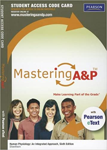 Amazon masteringap with pearson etext standalone access card masteringap with pearson etext standalone access card for human physiology an integrated approach 6th edition 6th edition fandeluxe Image collections