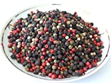 #4: ORIGINAL 5 PEPPERCORNS RAINBOW MIXED WITH CUBEB PEPPER 2-32 OZ RESEALABLE BAGS