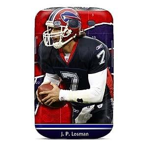 High Grade LisaMichelle Flexible Tpu Case For Galaxy S3 - Buffalo Bills