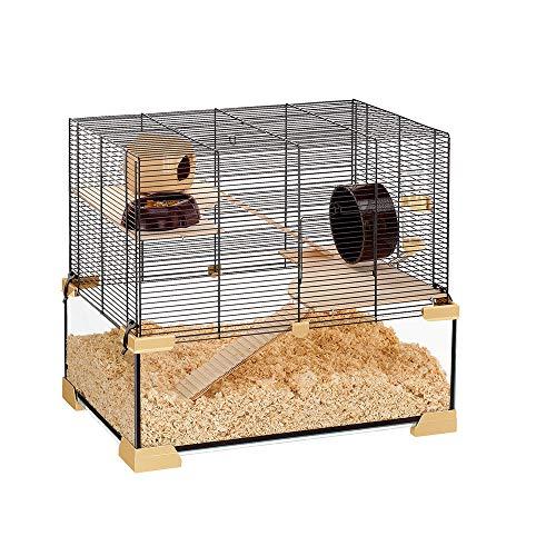 Ferplast Karat 60 57056117W1 Hamster/Mouse Cage 59.5 x 39 x 52.5 cm Black