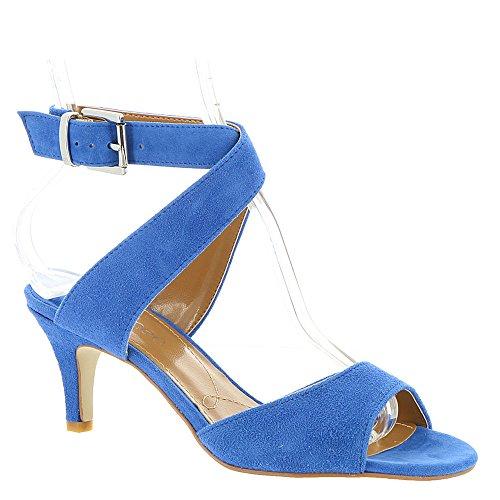 J. Renee Soncino Women's Sandal 6 B(M) US Cobalt by J.Renee