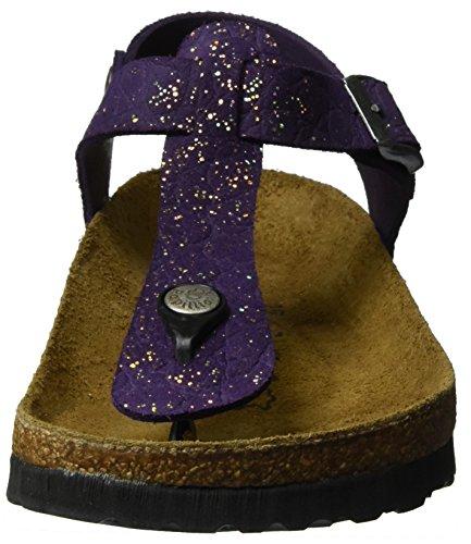 Tacco T col Cinturino Scarpe Papillio Leder Violet con Viola Kairo Donna 136 Grace a wI8xwYtp