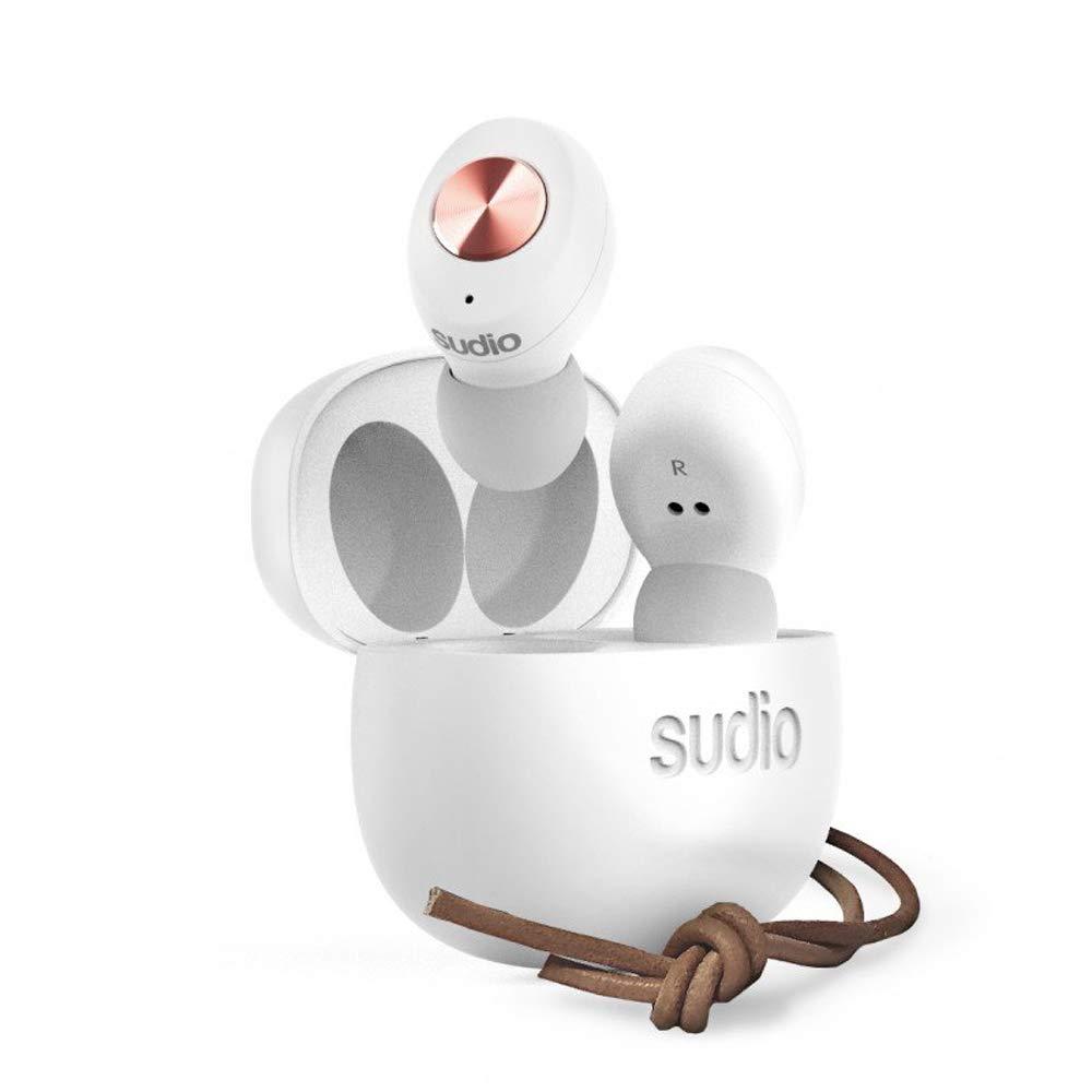 【国内正規品】Sudio Bluetooth 完全ワイヤレスイヤフォン TOLV White SD-0037 B07N1HBWVF ホワイト