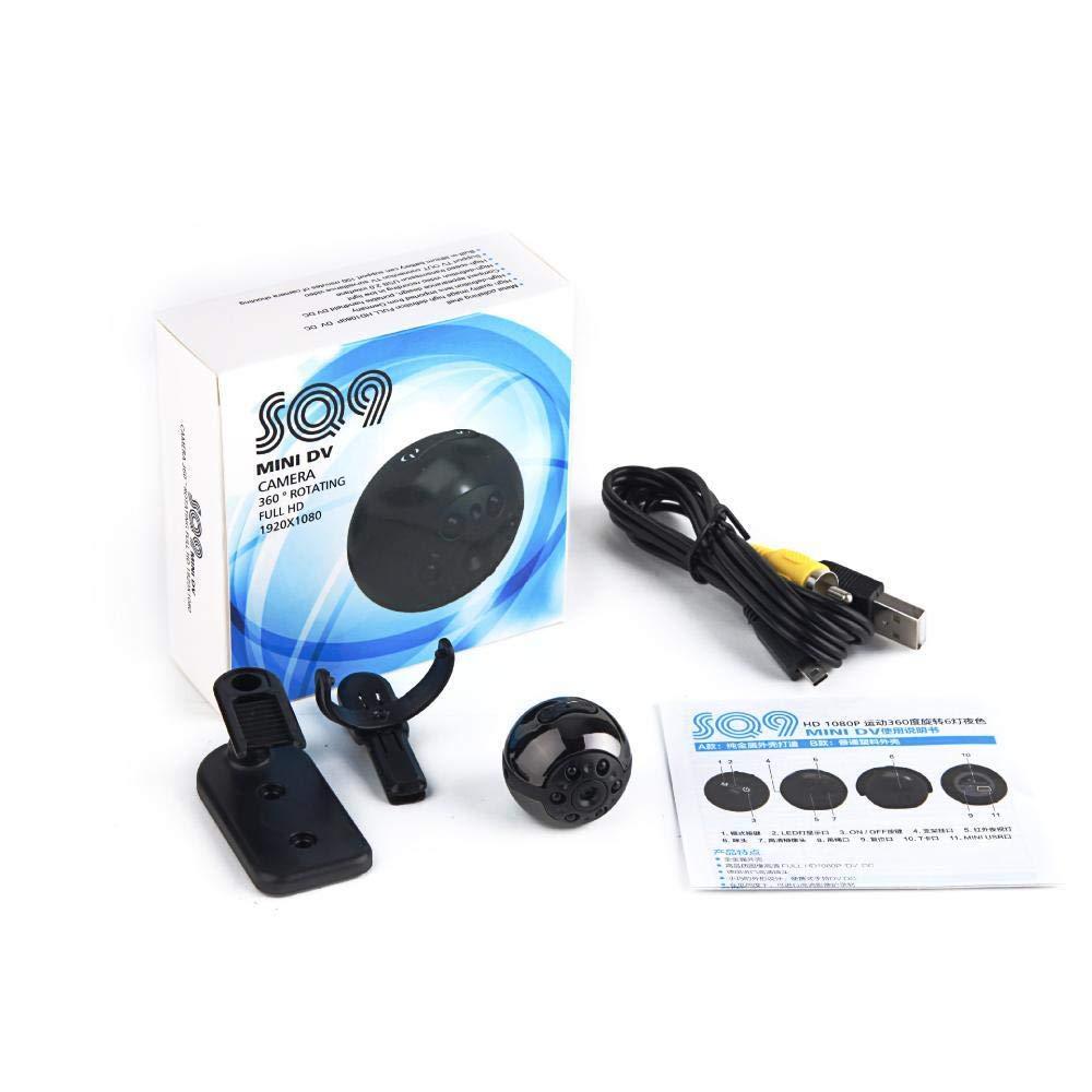 Littlefairy Mini de visión Noche IR cámara HD Baby Monitor cámara de Calidad SQ9 Alta: Amazon.es: Jardín