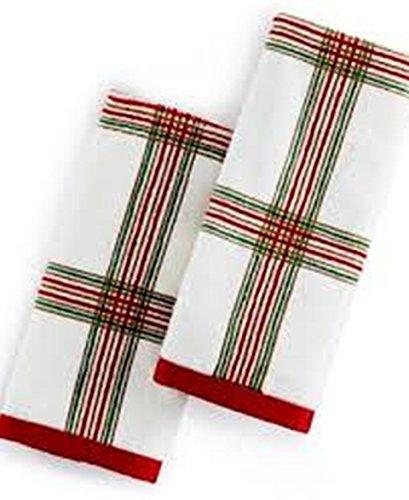 LENOX HOLIDAY NOUVEAU PLAID FINGERTI (Holiday Nouveau Towel)