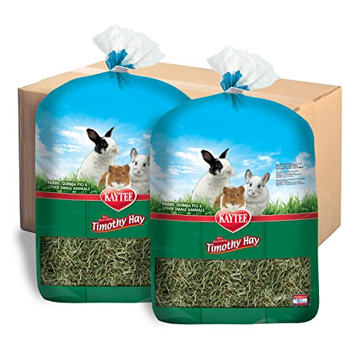 Kaytee Timothy Hay, 96 Oz (Pack of 2) (50 Lb Bag Of Guinea Pig Food)