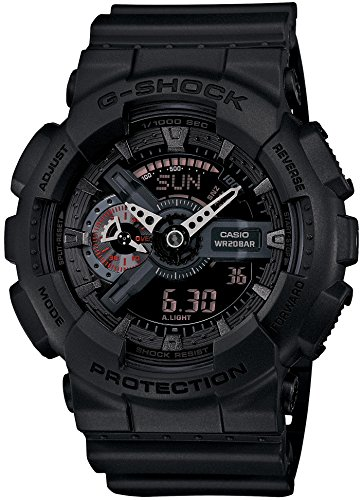 CASIO G SHOCK Military Black GA 110MB 1AJF