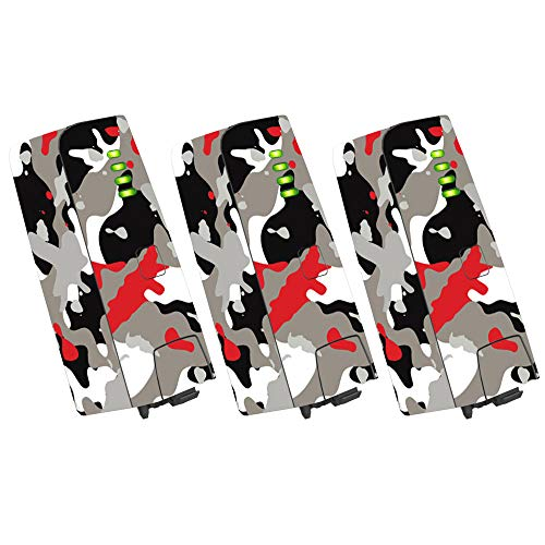 MightySkins Skin for Parrot Anafi Drone Battery (3 Pack) - Red Camo | Protective, Durable, and Unique Vinyl Decal wrap Cover | Easy to Apply, Remove, and Change Styles | Made in The USA