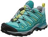 Salomon Women's X Ultra 2 GTX Hiking Shoe (7.5 B(M) US, Bubble Blue/Teal Blue F/Citrus-X)