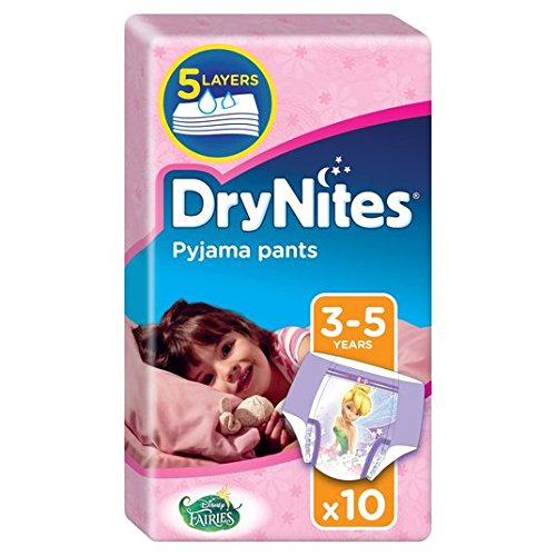 Huggies 3-5 years DryNites for Girls 16-23kg 10 per pack