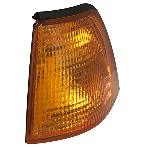 E36 Turn Signal Light - CarPartsDepot, Driver Left Side Parking Corner Light Signal Lamp LH, BM20071A3L BM2520102 63138353279