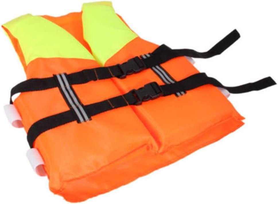 Chaleco Salvavidas de poli/éster para ni/ños con Hebilla Ajustable flotaci/ón de Espuma para Nadar Chaleco de Seguridad para nataci/ón HAINIWER Chaleco Salvavidas para ni/ños de 4 a 10 a/ños