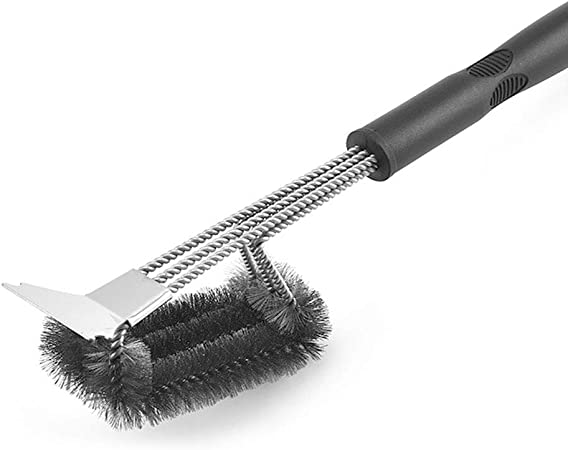 Grill Cleaner Wire Brush and Scraper Grill Grate Cleaner BBQ Cleaning Tool New 2020 Model