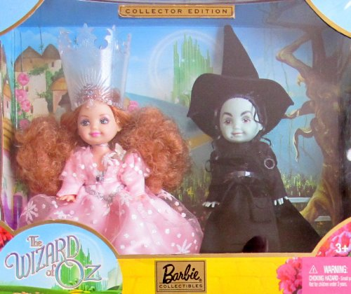 Barb COLLECTOR Edition KELLY DOLL as GLINDA and The WICKED WITCH of the WEST The WIZARD of OZ GIFTSET (2003) ()