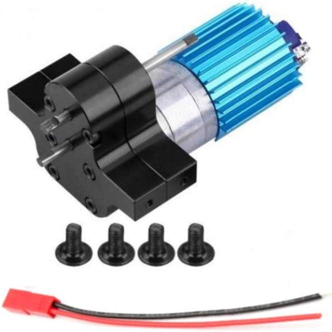 schwarz Ocamo 370 B/ürstenmotor Metallgetriebe-Drehzahl/änderung Compatible with for WPL 1633 RC-Auto Getriebebaugruppe RC-Getriebe