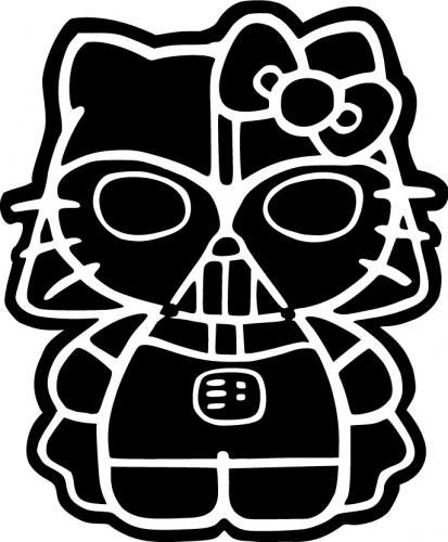 Hello Kitty Darth Vader Star Wars 4