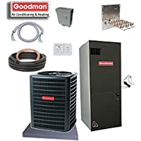 Goodman 2.5 Ton 14 SEER Straight Cool GSX140301 & ARUF31B14 Install Kit