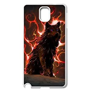 Custom Colorful Case for Samsung Galaxy Note 3 N9000, Wolf Cover Case - HL-R665531