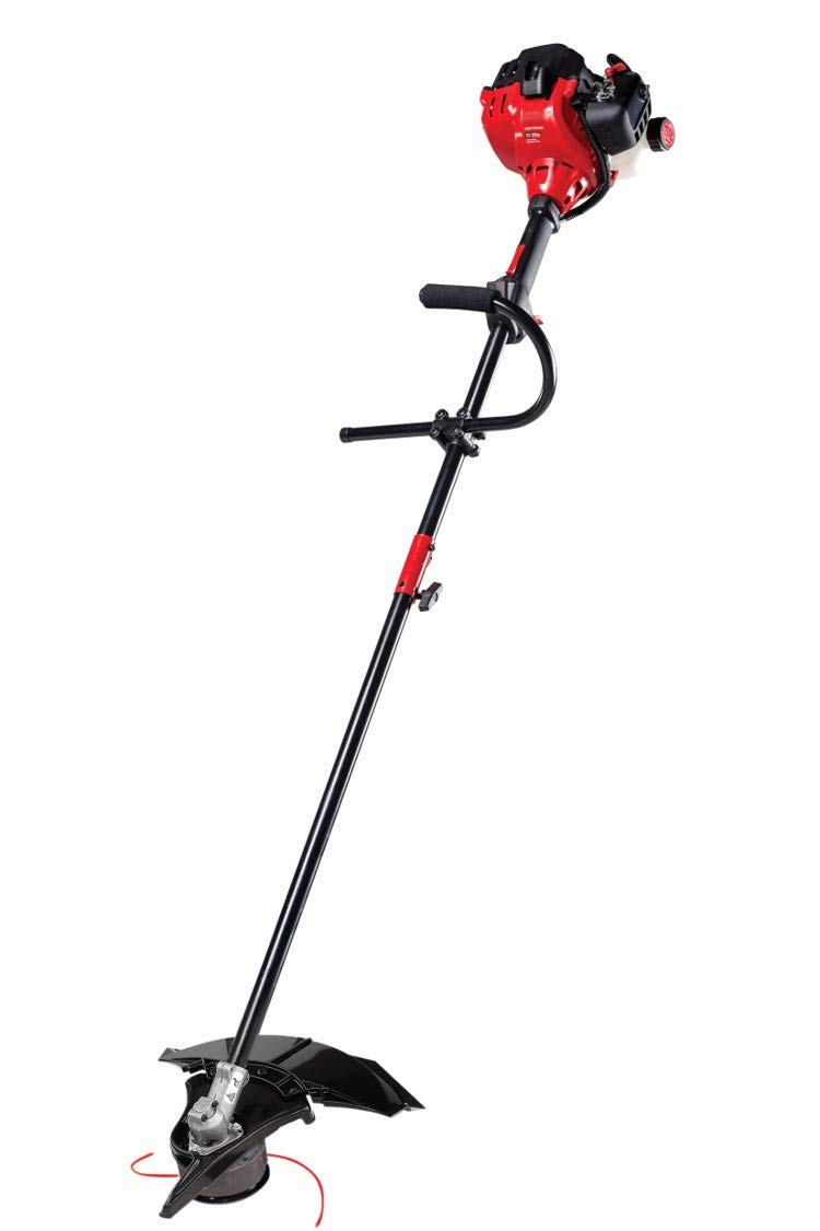 Craftsman WS235 2-Cycle 17-Inch Attachment Capable Straight Shaft  WEEDWACKER Gas Powered Brush Cutter