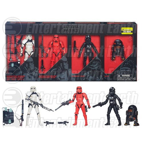 [Star Wars The Black Series Imperial Forces 6-Inch Action Figures - Entertainment Earth Exclusive by] (Sandtrooper Costume For Sale)